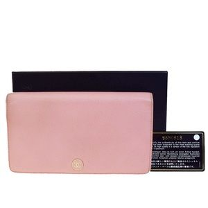 Authentic Chanel Pink Wallet